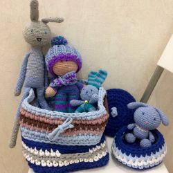 Basket toys