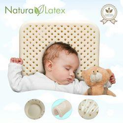 🔥 Bebek Ortopedik Yastık 100% Lateks Yeni