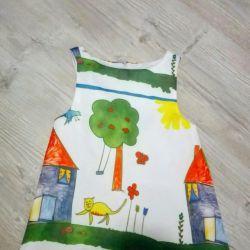 Rochie nouă pentru copii.