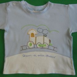 T-shirt for children with short sleeves p 80