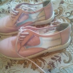 Leather summer shoes 33