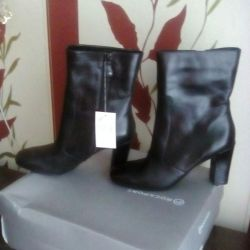 Leather boots ROCKPORT (NEW)