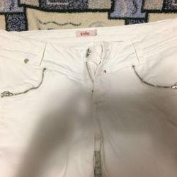 Білі джинси з ZOLLA