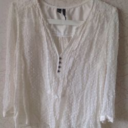 White Mango Blouse 46-48