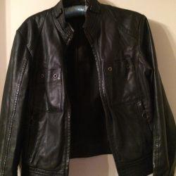 Jacket, Zara, leatherette, size M