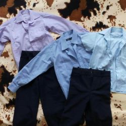 School shirts and trousers up to 10 years