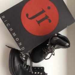 John Richmond 31 new leather shoes