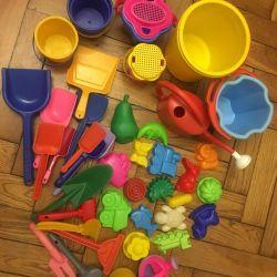 Jucării pentru nisip Lot 1