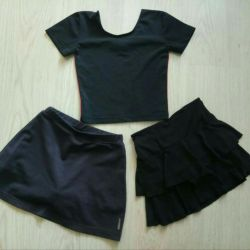 Training clothes for dancing 4-5 years