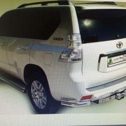 Toyota Prado 120, 150'deki Gerdirme