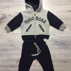 Children's suit on Hugo Boss fleece