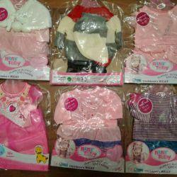 Îmbrăcăminte pentru bebeluși / surori Baby Born