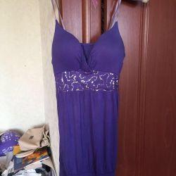 Φόρεμα βαμβακερό ύφασμα 42-44
