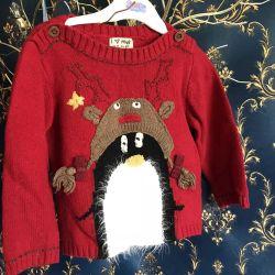 Călduță pulover de bluză caldă în continuare