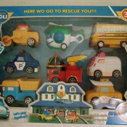 Heroes of Paulie Robocar Piece and Sets