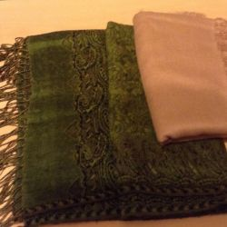 Shawls NEW cashmere - a good gift for DR