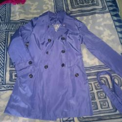 Warmed raincoat