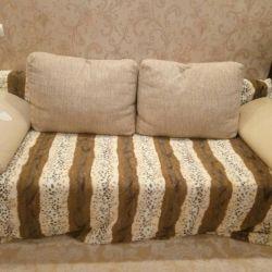 Καναπές με μηχανισμό Eurobook