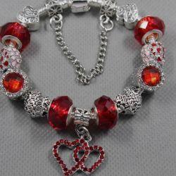Pandora Style Bracelet 1612