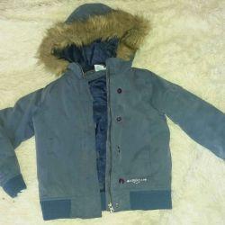 Куртка хлопок на синтепоне б/у