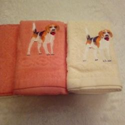 New terry towels to choose from