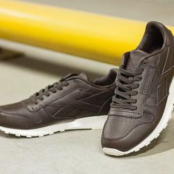 REEBOK CLASSIC LEATHER LUX sneakers (brown)
