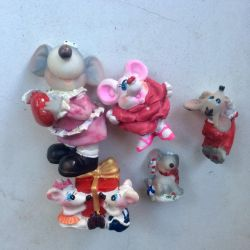 Rat Figures (symbol of the year)