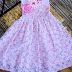 New dress of cotton
