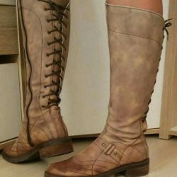 Light boots Geox p38,5 leather