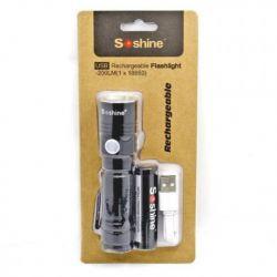 Soshine flashlight TS 10 USB Cree XP-E