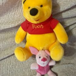 New Winnie the Pooh and Piglet