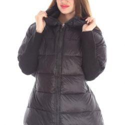 New winter down jacket