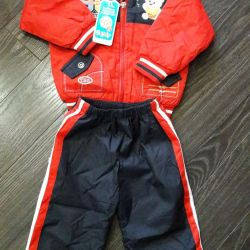 New suit, insulated