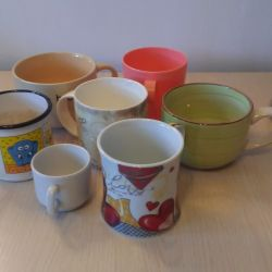 Cups 7 pieces
