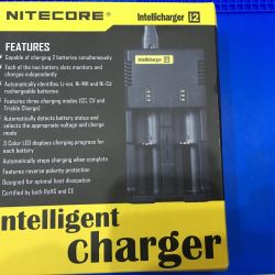 Charging Nitecore lithium batteries