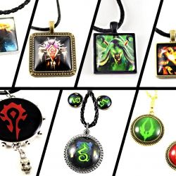 World of Warcraft Souvenir Jewelery - as a gift