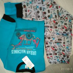 Pajamas new warm 116 croquet