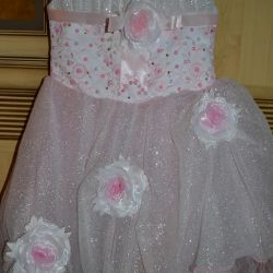 Chic dress, suitable for 3-6 years.