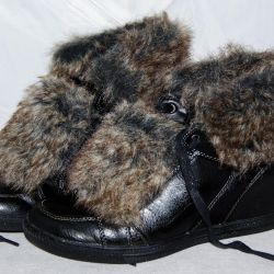 Short boots for the winter