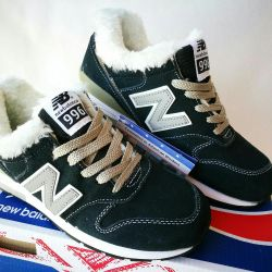 ❄New Balance 996 Winter Sneakers