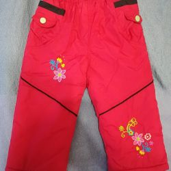 Pants for autumn / spring for 10-14 months.