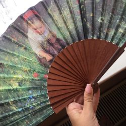 Fan-souvenir from the Hermitage
