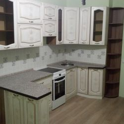 Kitchen mdf with patina