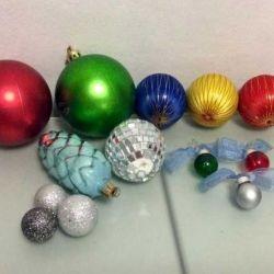Новогоднее украшение: ёлочные игрушки. Обмен.