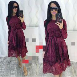 Kadınlar için elbiseler - kadife