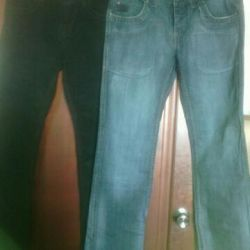 Woman's jeans. Classic. Denim.