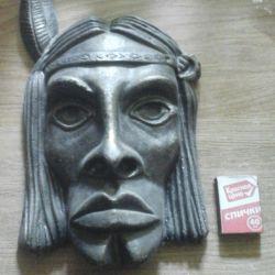 Kızılderili maskesi