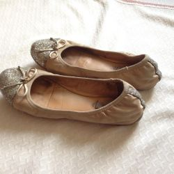 Ballet shoes guess and shoes