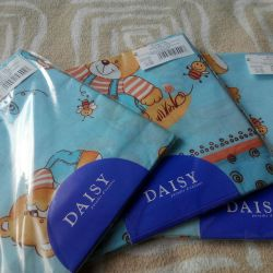 Daisy New diaper coarse calico 3pcs.
