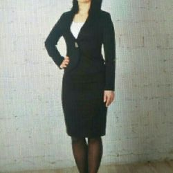 Suit with skirt р.42 46 48